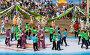 Праздник Сабантуй. Татарский национальный костюм. Танец, эксклюзивное фото № 4828066, снято 15 июня 2013 г. (c) Кучкаев Марат / Фотобанк Лори