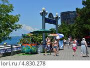 Купить «Летние пейзажи курорта Анапа», эксклюзивное фото № 4830278, снято 5 июля 2013 г. (c) Игорь Архипов / Фотобанк Лори