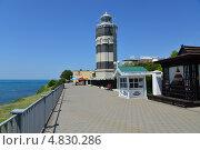 Купить «Анапский маяк», фото № 4830286, снято 5 июля 2013 г. (c) Игорь Архипов / Фотобанк Лори