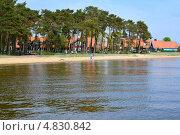 Купить «Литва. Вид на Ниду с Куршского залива», фото № 4830842, снято 11 мая 2013 г. (c) Ирина Борсученко / Фотобанк Лори