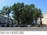 Вид на Конногвардейский бульвар (2013 год). Редакционное фото, фотограф Андрей Кушнирук / Фотобанк Лори
