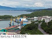 Купить «Порт, город Петропавловск-Камчатский», фото № 4833574, снято 8 июля 2013 г. (c) А. А. Пирагис / Фотобанк Лори