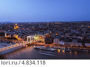 Будапешт в сумерках (2013 год). Стоковое фото, фотограф Артём Сапегин / Фотобанк Лори
