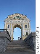 Московские/Амурские ворота в Иркутске (2013 год). Редакционное фото, фотограф Инна Пальшина / Фотобанк Лори