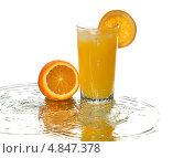 Апельсиновый сок. Стоковое фото, фотограф Смирнов Константин / Фотобанк Лори