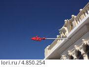 Стрела в небе (2012 год). Стоковое фото, фотограф Дарья Фролова / Фотобанк Лори