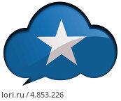 Купить «Флаг Сомали в диалоговом пузыре», иллюстрация № 4853226 (c) Клинц Алексей / Фотобанк Лори