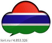 Купить «Флаг Гамбии в диалоговом пузыре», иллюстрация № 4853326 (c) Клинц Алексей / Фотобанк Лори