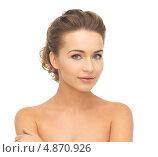 Купить «Красивая молодая женщина с упругой кожей без морщин», фото № 4870926, снято 17 марта 2013 г. (c) Syda Productions / Фотобанк Лори