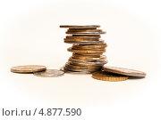 Монеты. Стоковое фото, фотограф Иван Трошин / Фотобанк Лори