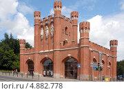 Купить «Калининград. Королевские ворота», эксклюзивное фото № 4882778, снято 22 июля 2013 г. (c) Svet / Фотобанк Лори