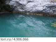 Абхазия, Голубое озеро. Стоковое фото, фотограф Анна Самохина / Фотобанк Лори