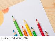 Карандаши для рисования. Стоковое фото, фотограф Лика Чекалова / Фотобанк Лори