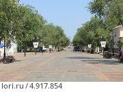 Купить «Оренбург, улица советская», фото № 4917854, снято 28 июня 2013 г. (c) Иван Тимофеев / Фотобанк Лори