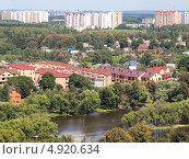 Купить «Вид сверху на Новую Москву», фото № 4920634, снято 4 августа 2013 г. (c) SevenOne / Фотобанк Лори