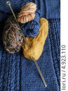 Спицы и пряжа для вязания. Стоковое фото, фотограф Владимир Ворона / Фотобанк Лори