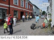 Купить «Финляндия. Город Порвоо», эксклюзивное фото № 4924934, снято 23 июля 2013 г. (c) Александр Алексеев / Фотобанк Лори