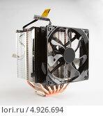Купить «Большой охладитель для процессора», фото № 4926694, снято 3 августа 2013 г. (c) Стебловский Александр / Фотобанк Лори