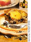 Купить «Греческая национальная кухня», фото № 4927010, снято 25 июля 2013 г. (c) ElenArt / Фотобанк Лори
