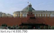 Люди приходят в мавзолей Ленина. Таймлапс (2013 год). Стоковое видео, видеограф Виктор Тараканов / Фотобанк Лори