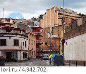 Купить «Старые улицы Барселоны, Испания», фото № 4942702, снято 12 марта 2013 г. (c) Яков Филимонов / Фотобанк Лори