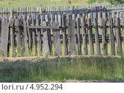 Деревенский забор. Стоковое фото, фотограф Андрей Каретников / Фотобанк Лори