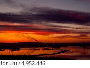 Закат. Стоковое фото, фотограф Николай Кудаев / Фотобанк Лори