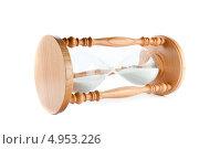 Купить «Песочные часы лежат на боку», фото № 4953226, снято 22 марта 2012 г. (c) Wavebreak Media / Фотобанк Лори