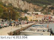 Купить «Набережная в городе Закинтос (Греция)», фото № 4953994, снято 28 мая 2013 г. (c) Хименков Николай / Фотобанк Лори