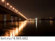 Академический мост г.Иркутск (2011 год). Стоковое фото, фотограф Николай Кудаев / Фотобанк Лори