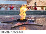 Купить «Город Смоленск. Вечный огонь», эксклюзивное фото № 4970338, снято 31 июля 2013 г. (c) Сергей Лаврентьев / Фотобанк Лори