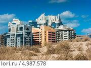 Купить «Пустыня на краю города в жаркий день», фото № 4987578, снято 17 ноября 2012 г. (c) Олег Жуков / Фотобанк Лори