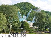 Купить «Пещерный комплекс Святогорской Лавры», фото № 4991106, снято 23 июня 2013 г. (c) Sanna / Фотобанк Лори