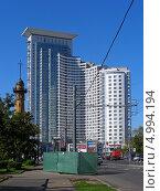 Купить «Русаковская улица, 31, Москва», эксклюзивное фото № 4994194, снято 26 августа 2013 г. (c) lana1501 / Фотобанк Лори