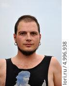 Купить «Антон «Тоха» Сагачко ударник группы «Jane Air»», фото № 4996938, снято 28 июня 2013 г. (c) Голованов Сергей / Фотобанк Лори