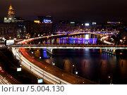 Ночная Москвы с высоты. Редакционное фото, фотограф Джесур Кючюк / Фотобанк Лори
