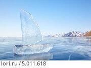 Купить «Ледяной парусник на Байкале в морозный день», фото № 5011618, снято 19 марта 2013 г. (c) Serg Zastavkin / Фотобанк Лори