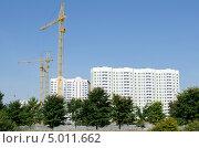 Панорама строительства. Стоковое фото, фотограф Анна Чуева / Фотобанк Лори