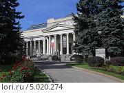 Главное здание Государственного Музея изобразительных искусств имени Пушкина, Москва (2013 год). Редакционное фото, фотограф Алексей Гусев / Фотобанк Лори