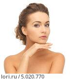 Купить «Красивая молодая женщина с нежной кожей», фото № 5020770, снято 17 марта 2013 г. (c) Syda Productions / Фотобанк Лори