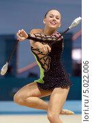 Marie Therese Ruud, Норвегия, на Чемпионате мира по художественной гимнастике в Киеве, фото № 5022006, снято 29 августа 2013 г. (c) Stockphoto / Фотобанк Лори