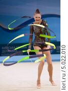 Алина Максименко, Украина, на Чемпионате мира по художественной гимнастике в Киеве, фото № 5022010, снято 29 августа 2013 г. (c) Stockphoto / Фотобанк Лори