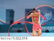 Алия Асымова, Казахстан, на Чемпионате мира по художественной гимнастике в Киеве, фото № 5022014, снято 29 августа 2013 г. (c) Stockphoto / Фотобанк Лори