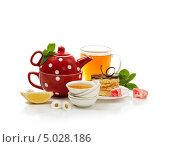 Натюрморт с чайником. Стоковое фото, фотограф Svetlana Mihailova / Фотобанк Лори