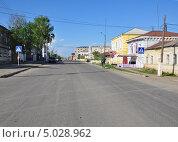 Улица города Сасово Рязанской области (2013 год). Стоковое фото, фотограф Мартынов Антон / Фотобанк Лори