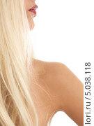 Купить «Красивая девушка со светлыми волосами крупным планом», фото № 5038118, снято 14 августа 2006 г. (c) Syda Productions / Фотобанк Лори