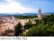 Купить «Жирона, Каталония, Испания», фото № 5042162, снято 1 июля 2013 г. (c) Яков Филимонов / Фотобанк Лори