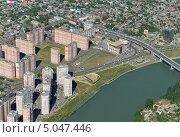 Купить «Город Краснодар, вид сверху», фото № 5047446, снято 8 мая 2013 г. (c) Виктор Затолокин/Victor Zatolokin / Фотобанк Лори