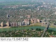 Купить «Город Краснодар, вид сверху», фото № 5047542, снято 8 мая 2013 г. (c) Виктор Затолокин/Victor Zatolokin / Фотобанк Лори