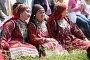 Купить «Девушки в национальных костюмах», фото № 5047898, снято 12 июня 2010 г. (c) Константин Цыгвинцев / Фотобанк Лори